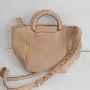 MADEWELL Top-Handle Leather Mini Bag